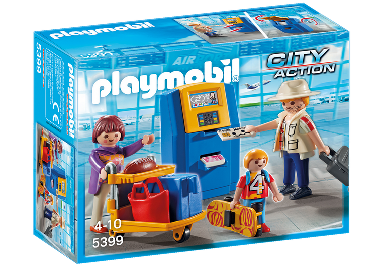 Playmobil Family at Check-In 5399