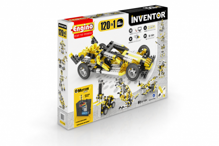 Engino INVENTOR 120 MODELS MOTORIZED SET 12030