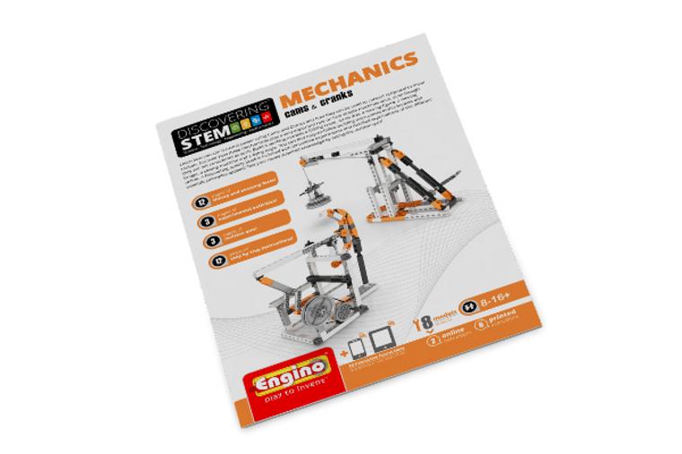 Engino STEM MECHANICS: Cams & Cranks STEM04