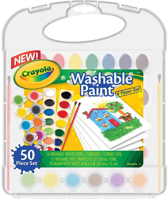 Crayola Washable Paint & Paper Kit 0452220001