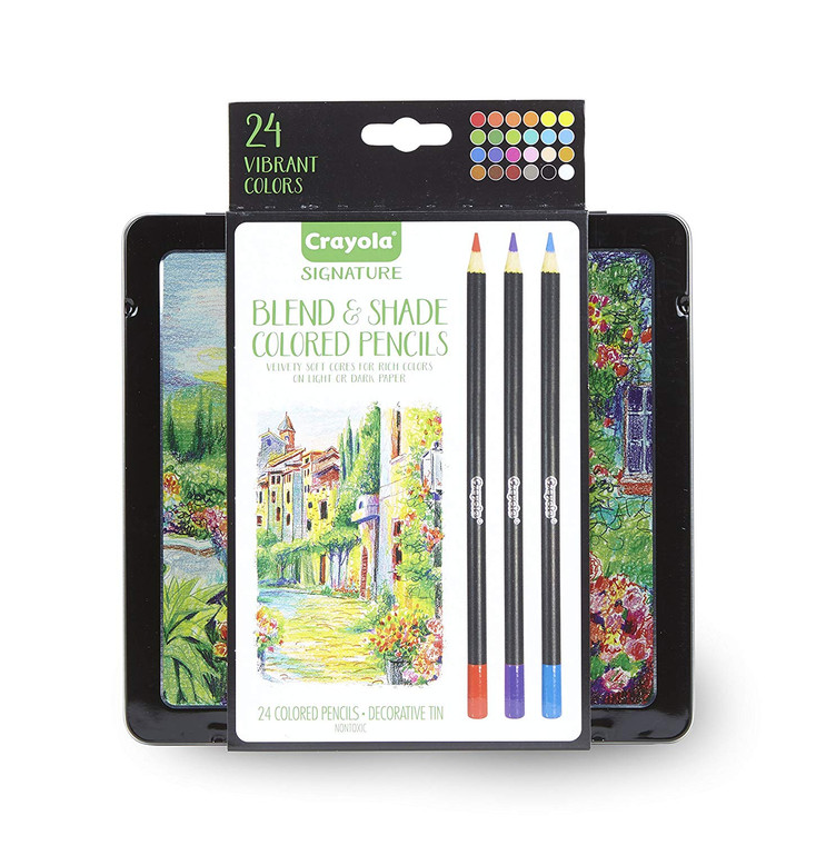 Crayola Blend & Shade Color Pencil 24ct 6820150000