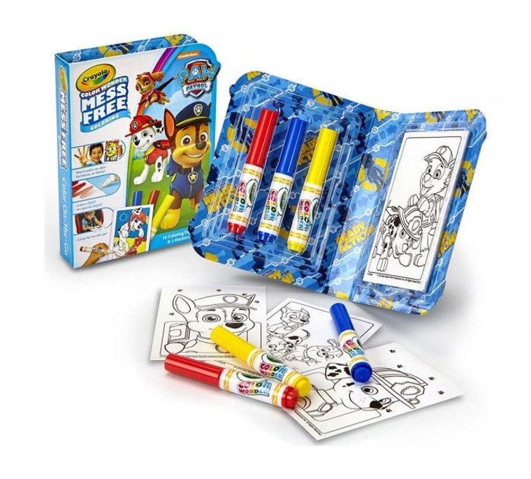 Crayola Color Wonder Mess Free On the Go, Paw Patrol 7501500000