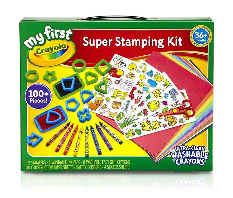 Crayola SUPER STAMPING KIT 8113570001