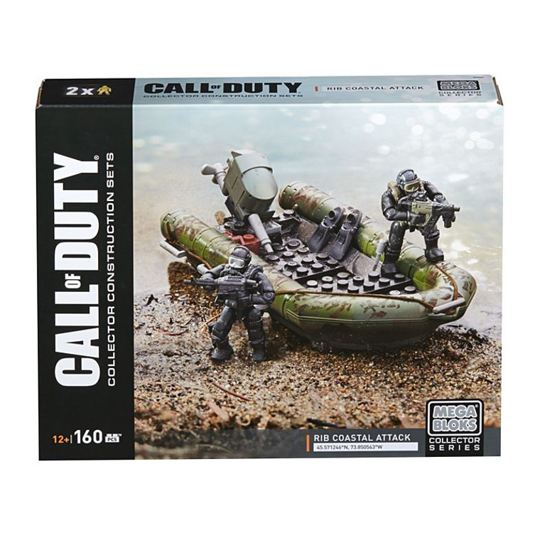 Mega Bloks Mega Bloks® Call of Duty® RIB Coastal Attack DPW84
