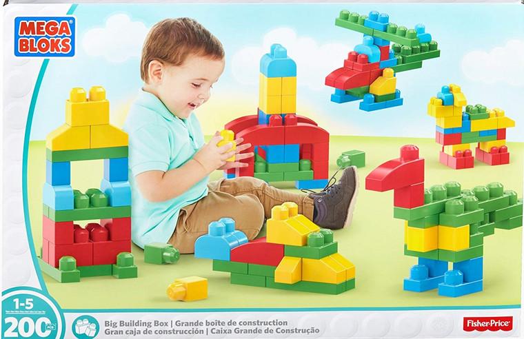 Mega Bloks-Big Building 200 pcs