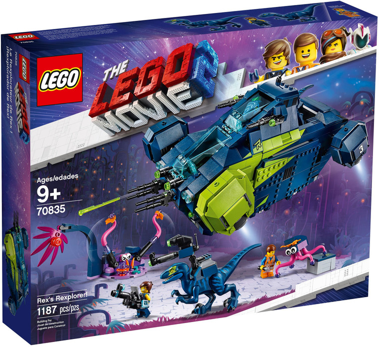LEGO Rex's Rexplorer! 70835