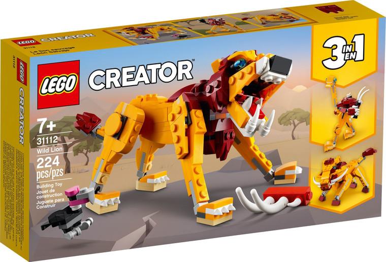 LEGO Wild Lion 31112