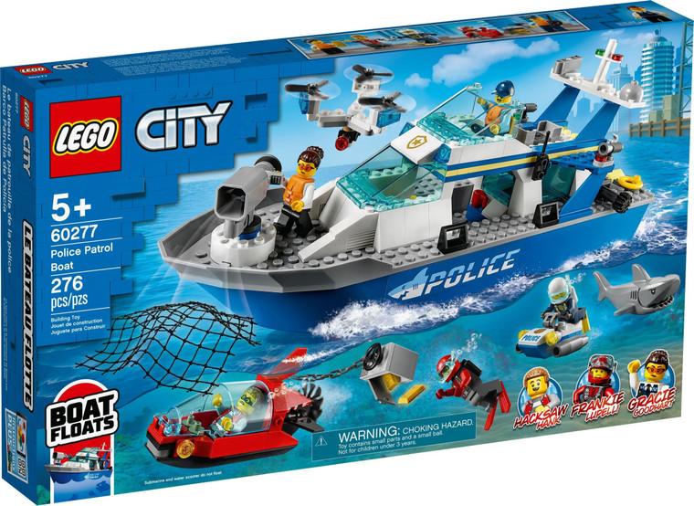 LEGO Police Patrol Boat V29 60277