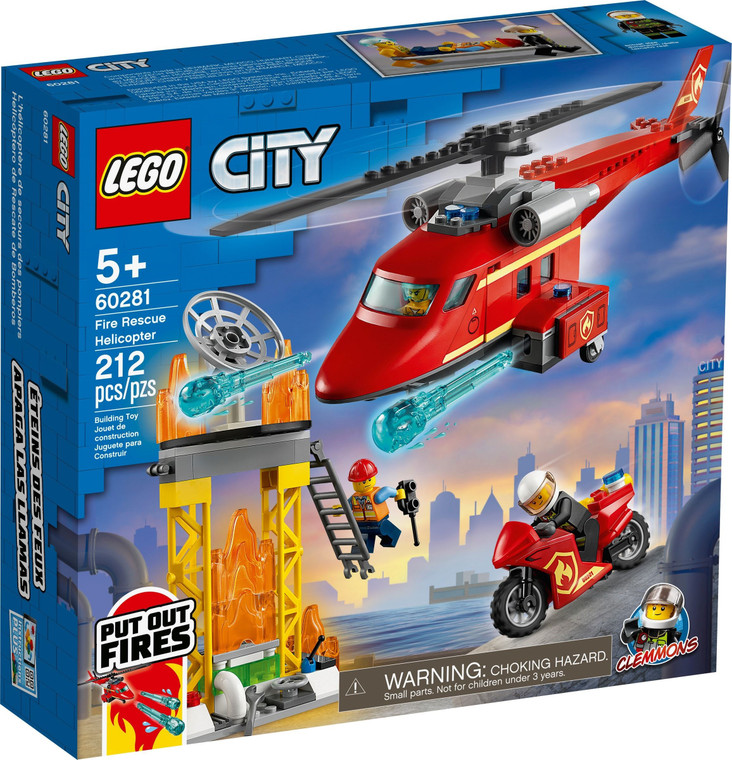 LEGO Fire Rescue Helicopter V29 60281
