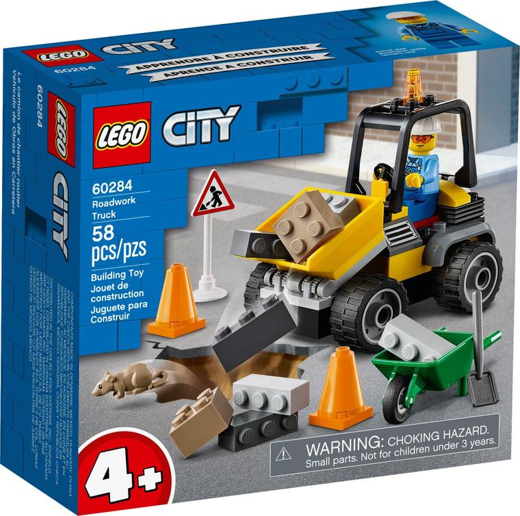 LEGO Roadwork Truck V29 60284