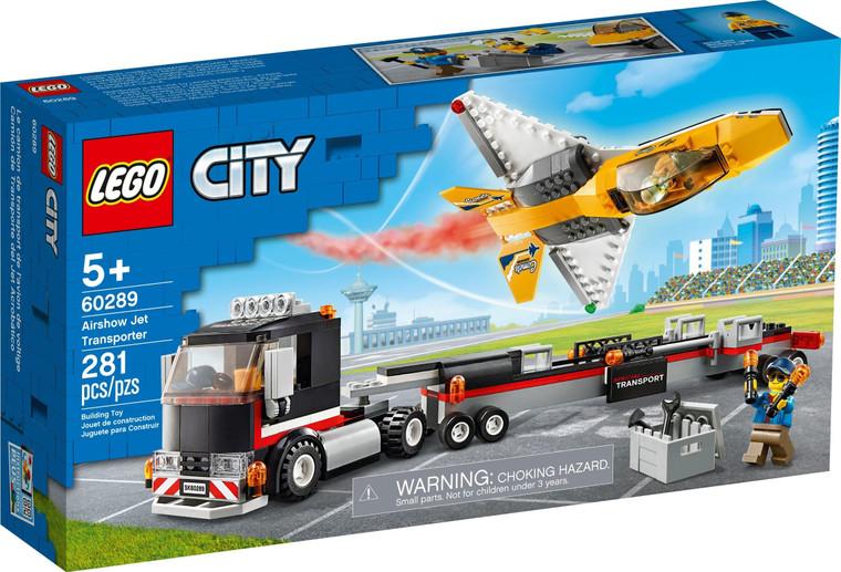 LEGO Airshow Jet Transporter V29 60289