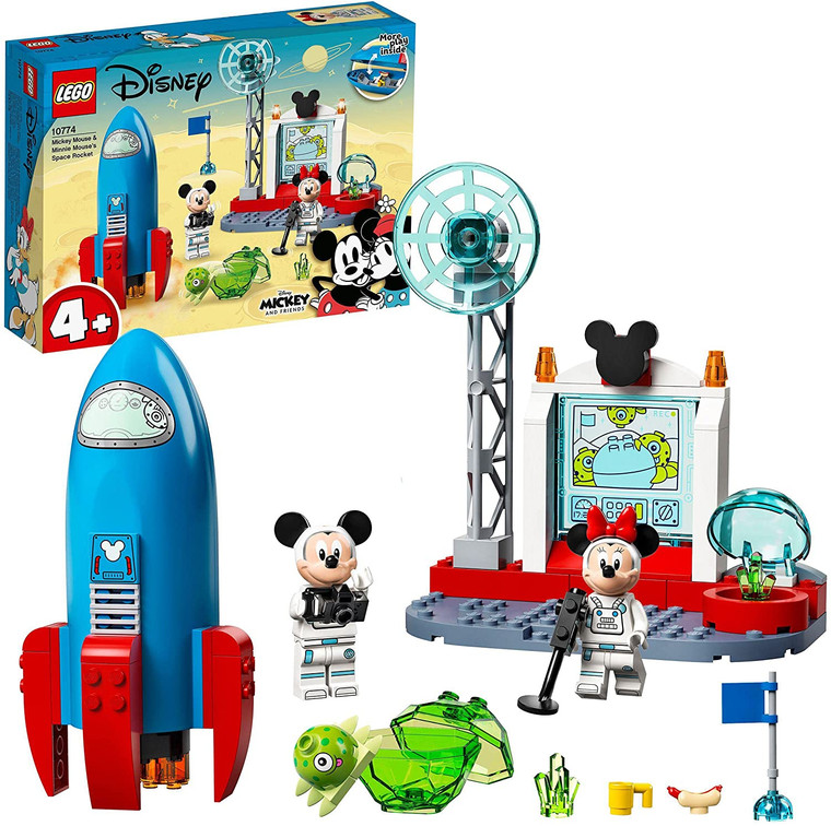 LEGO Mickey Mouse & Minnie Mouse's Space Rock 10774
