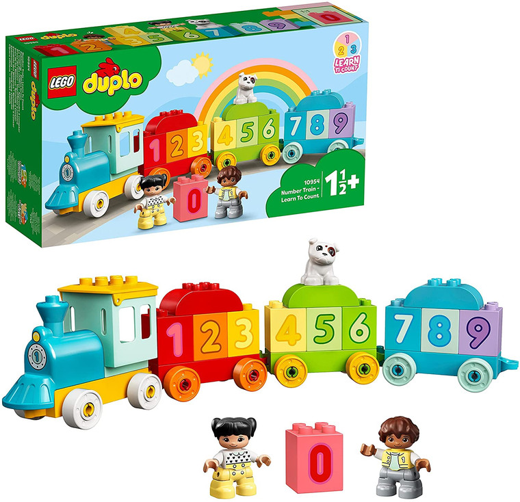 LEGO Number Train - Learn To Count 10954