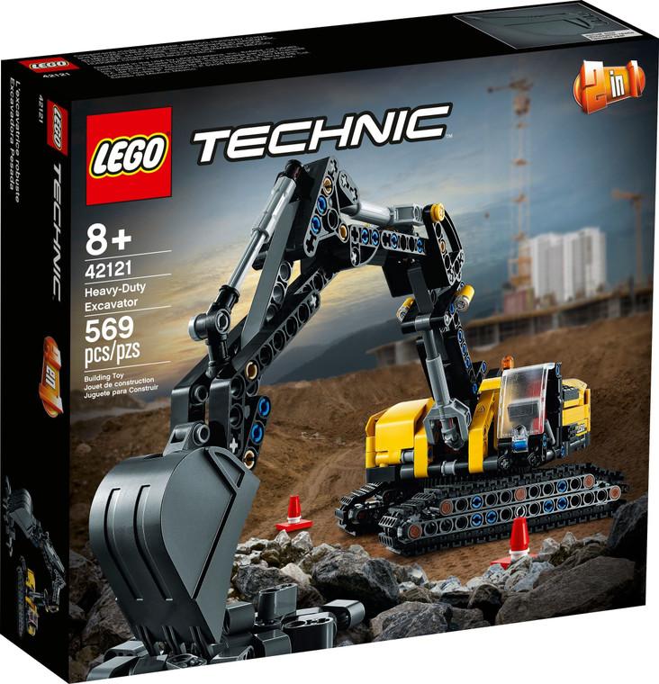 LEGO Heavy-Duty Excavator 42121