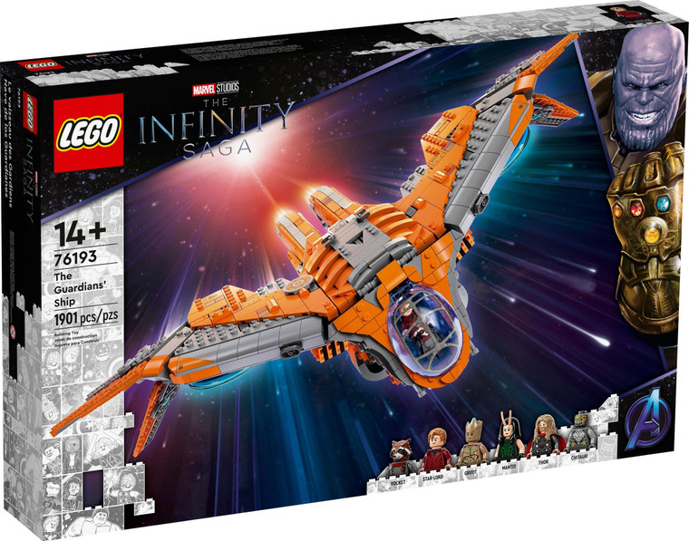 LEGO The Guardian's Ship 76193