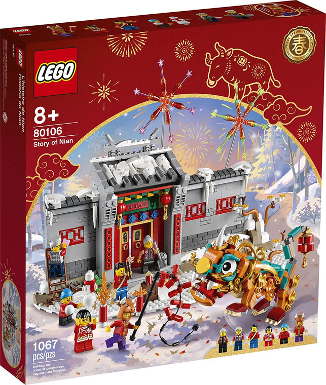 LEGO Story of Nian 80106