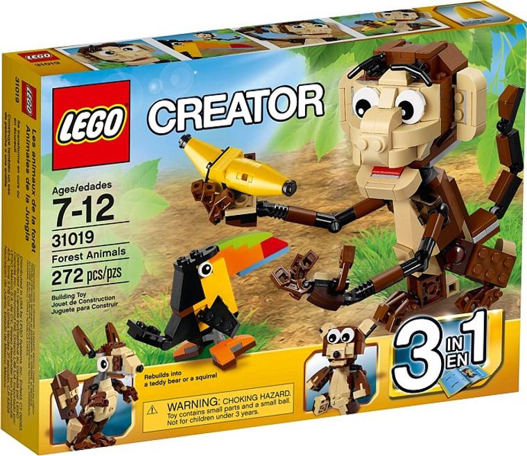 LEGO Forest Animals 31019