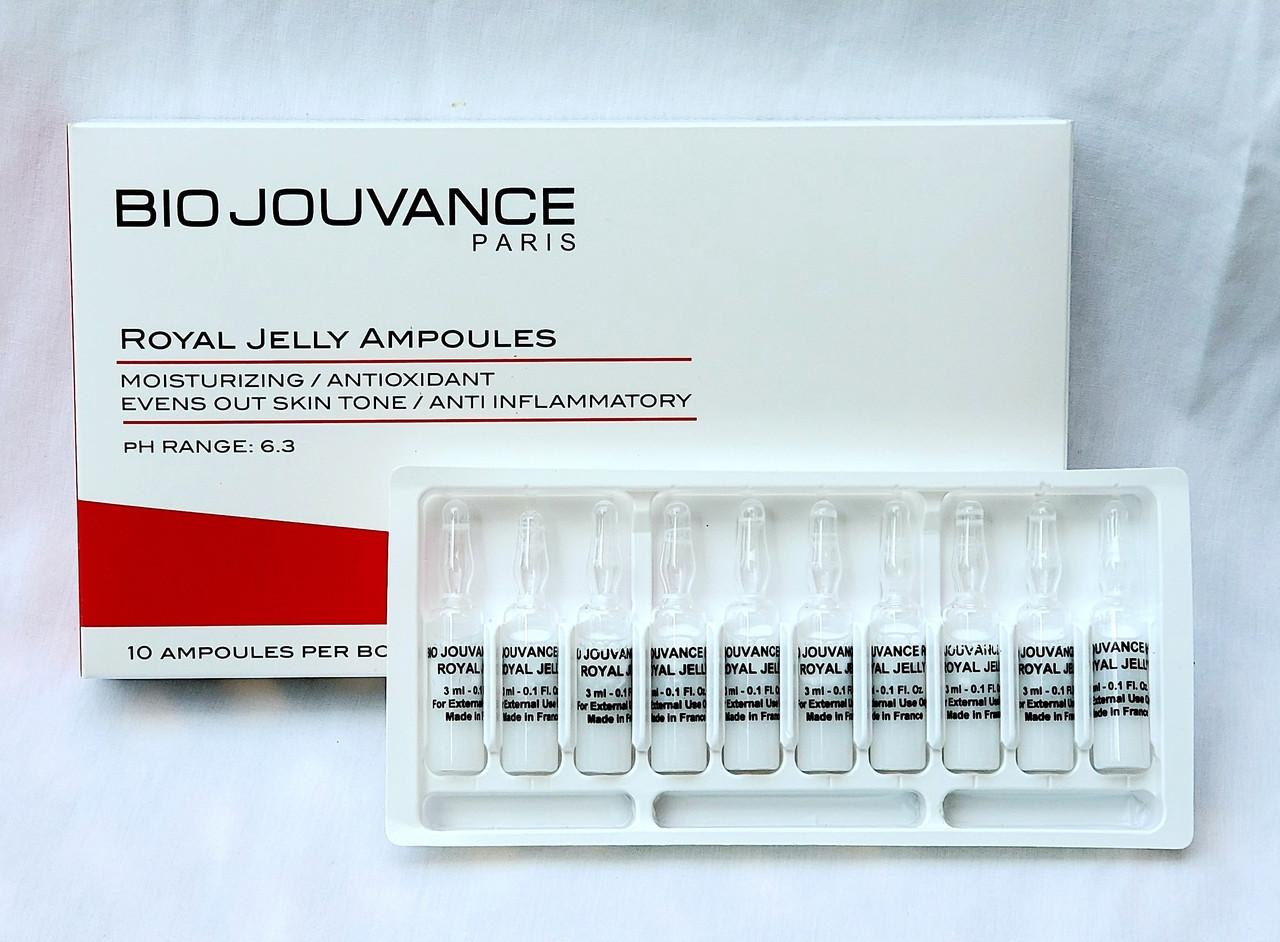 Bio Jouvance Royal Jelly Ampoules 10 pcs