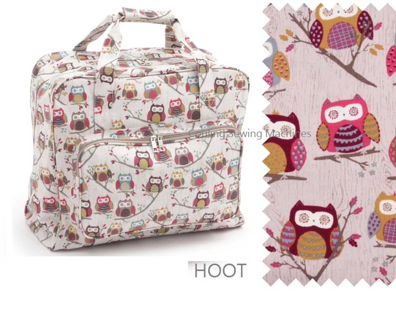 Sewing Machine Bag PVC Owl
