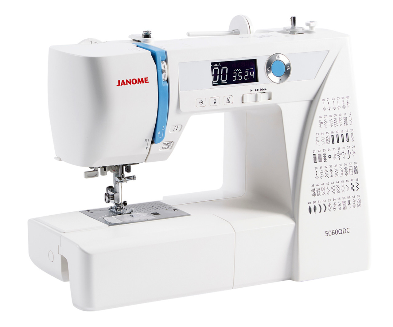 Machine couture Janome 780DC - Pénélope sewing machines | 1066x1280