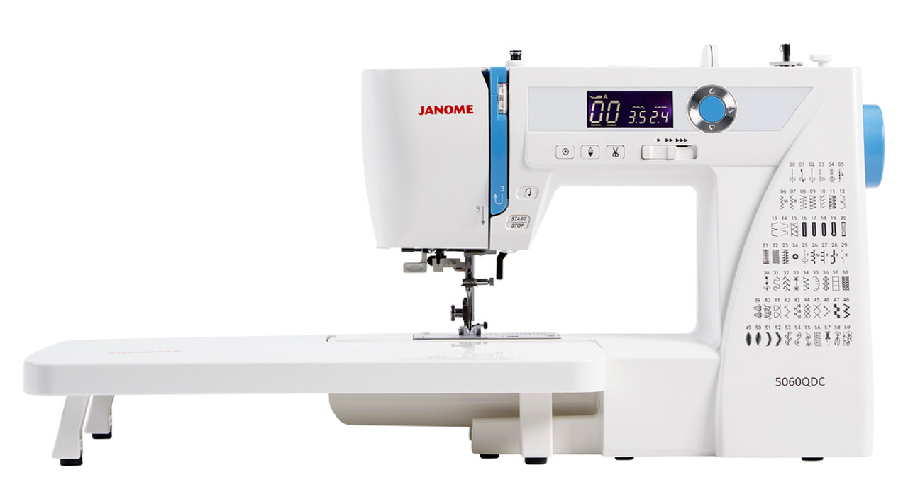 Janome 5060 QDC Sewing Machine & Bonus Quilting Foot Set - Couling Sewing Machines