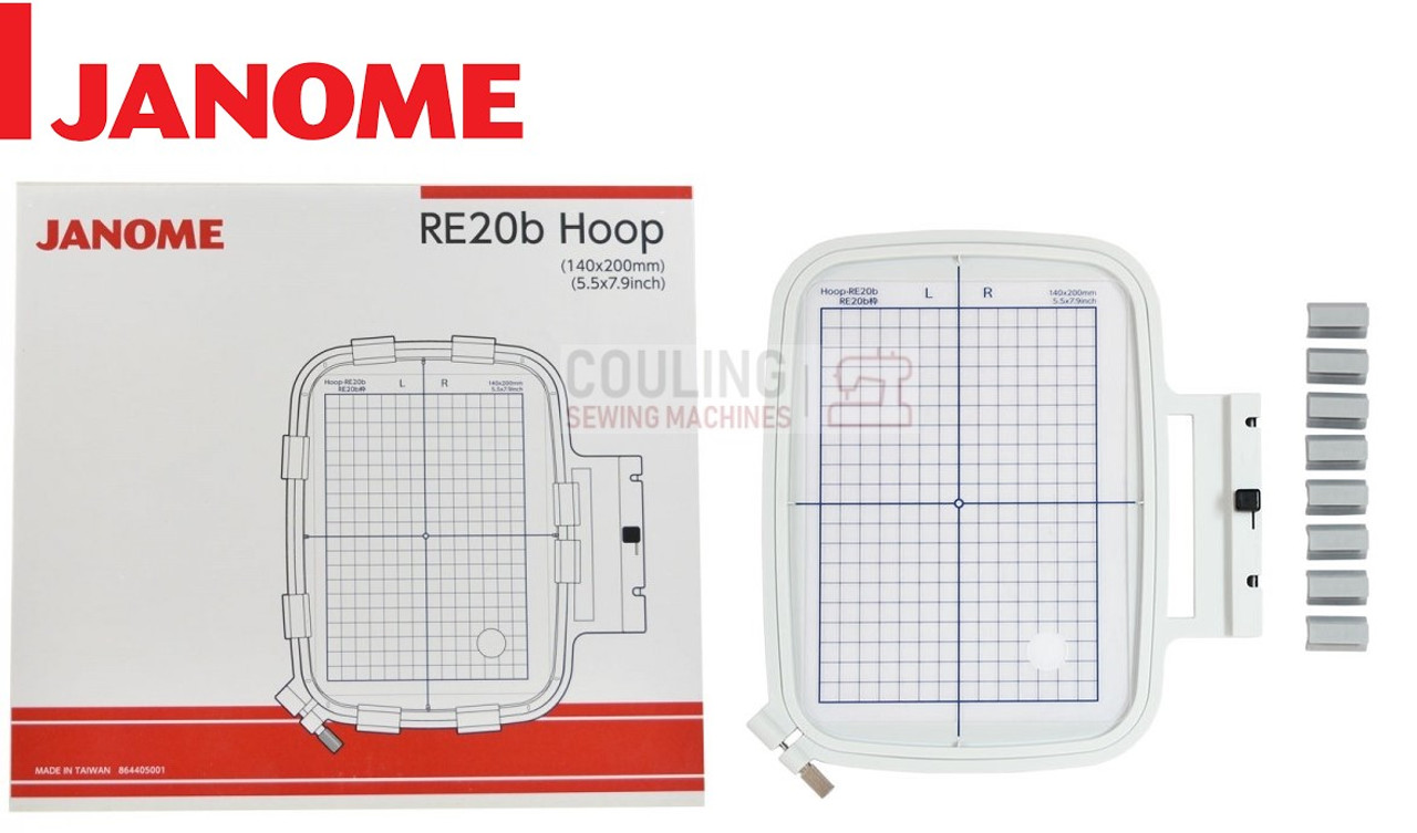 Janome Embroidery Hoop B 140x200mm