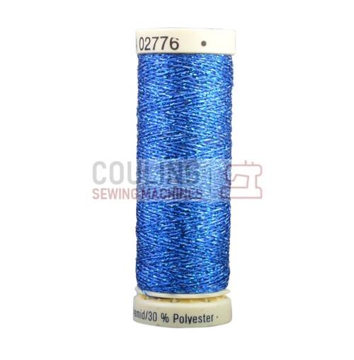 Gutermann Metallic Effect Thread 50m - Blue 315