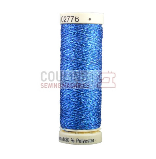Gutermann Metallic Effect Thread 50m - Blue 315