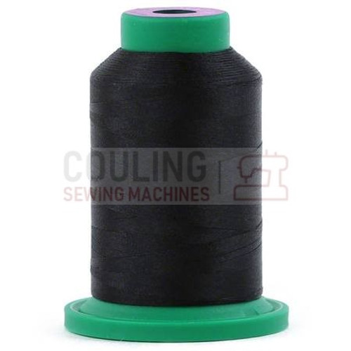 Isacord Polyester Thread 1000m - Black 0020