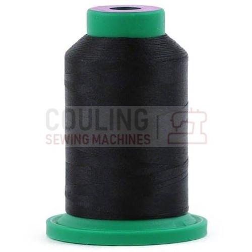 Isacord Polyester Thread 1000m - Black 0020