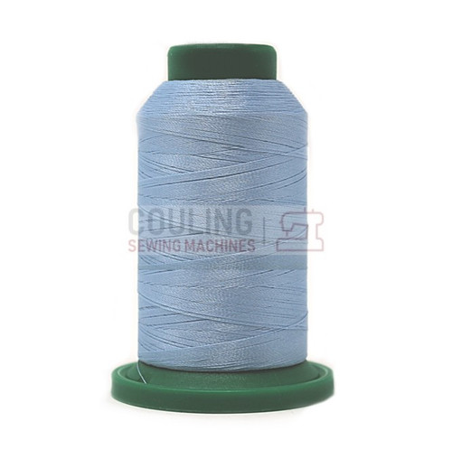 Isacord Polyester Embroidery Machine Thread 5000m - Winter Sky Blue 3761
