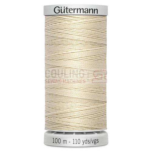 Gutermann Extra Strong Upholstery Thread 100m - 169 Ecru Light Beige