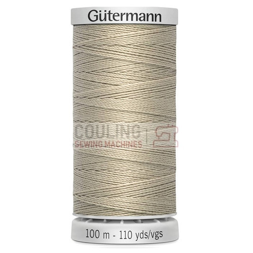 Gutermann Extra Strong Upholstery Thread 100m - 722 Beige Oatmeal