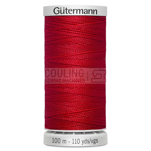 Gutermann Extra Strong Upholstery Thread 100m - 156 Scarlet Red