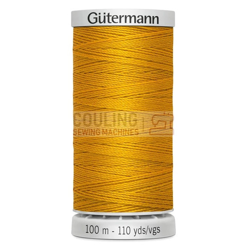 Gutermann Extra Strong Upholstery Thread 100m - 362 Yellow Gold