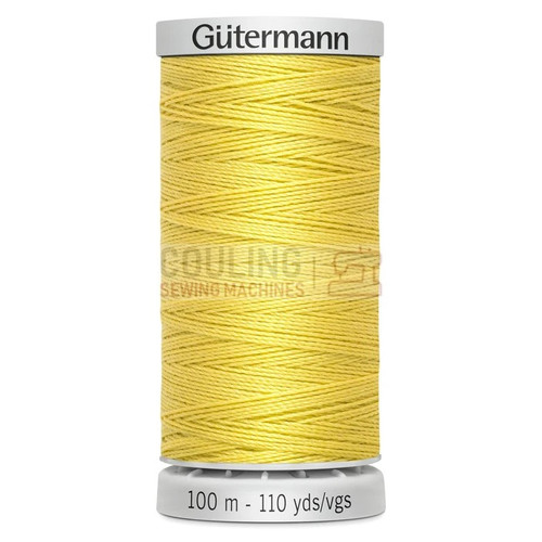 Gutermann Extra Strong Upholstery Thread 100m - 327 Yellow