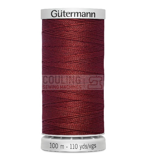 Gutermann Extra Strong Upholstery Thread 100m - 221 Rust Red