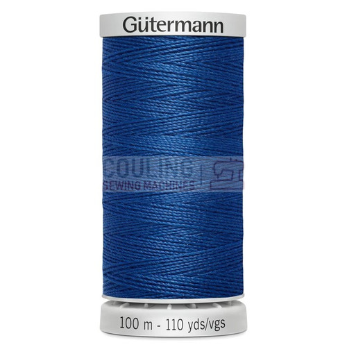 Gutermann Extra Strong Upholstery Thread 100m - 214 Royal Blue