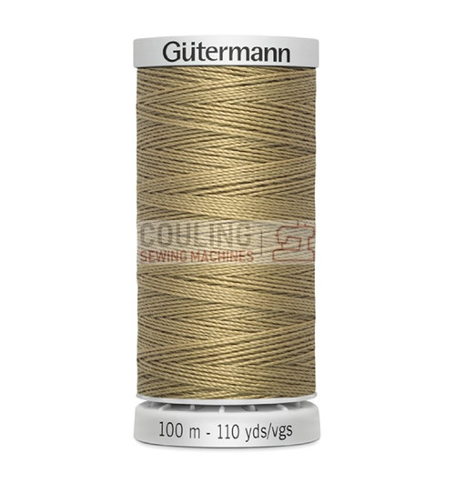 Gutermann Extra Strong Upholstery Thread 100m - 265 Dark Beige