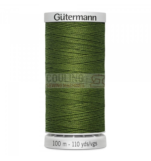 Gutermann Extra Strong Upholstery Thread 100m - 585 Grass Green