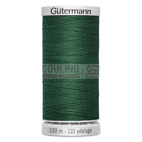 Gutermann Extra Strong Upholstery Thread 100m - 340 Green