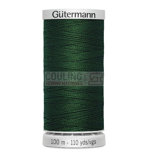 Gutermann Extra Strong Upholstery Thread 100m - 707 Dark Green