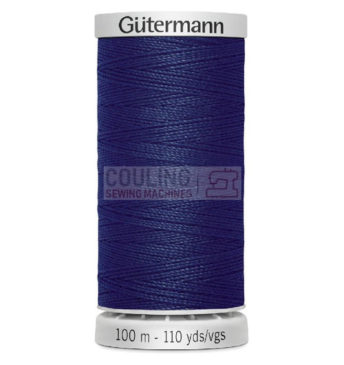Gutermann Extra Strong Upholstery Thread 100m - 339 Dark Blue Navy