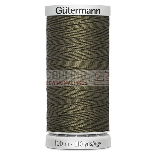 Gutermann Extra Strong Upholstery Thread 100m - 676 Sage Dark Olive Green