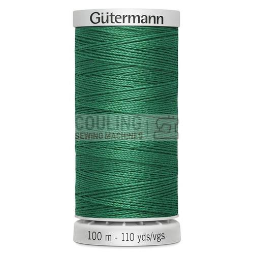 Gutermann Extra Strong Upholstery Thread 100m - 402 Emerald Green
