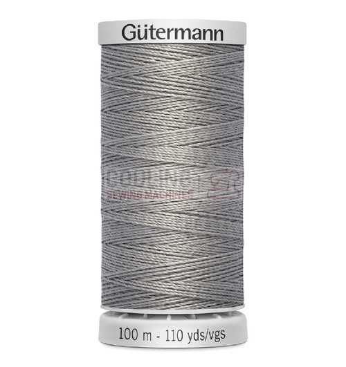 Gutermann Extra Strong Upholstery Thread 100m - 40 Light Grey
