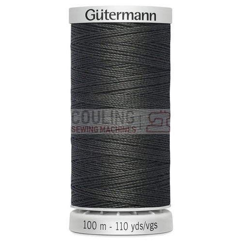 Gutermann Extra Strong Upholstery Thread 100m - 36 Dark Grey