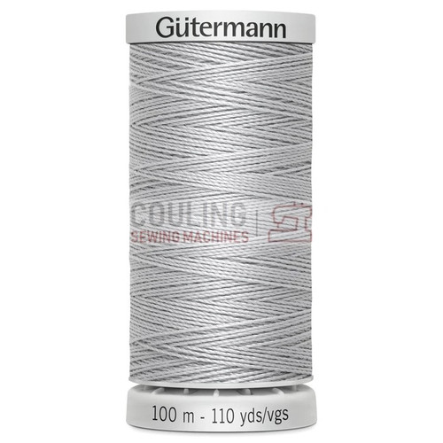 Gutermann Extra Strong Upholstery Thread 100m - 38 Silver Grey