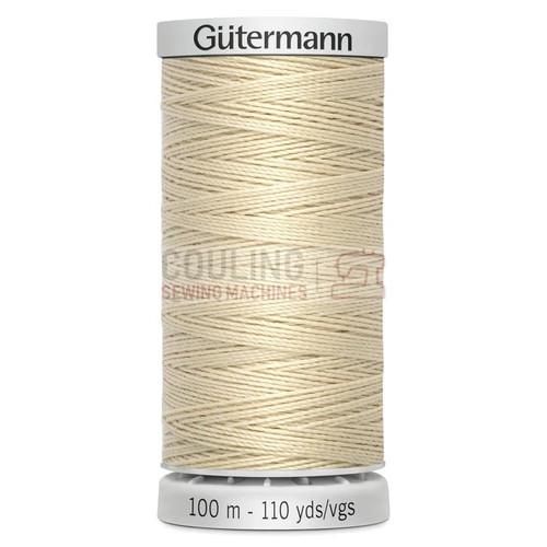 Gutermann Extra Strong Upholstery Thread 100m - 414 Cream