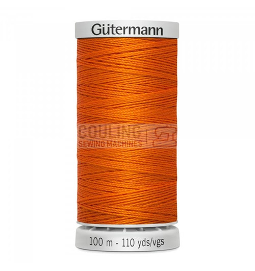 Gutermann Extra Strong Upholstery Thread 100m - 351 Bright Orange